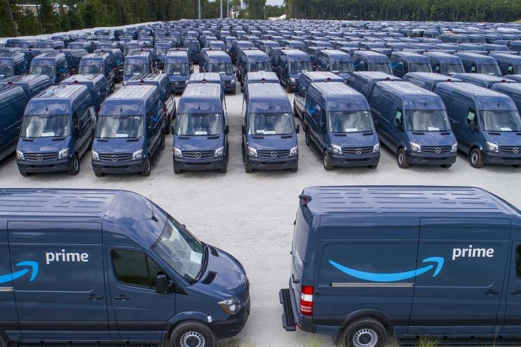 La croissance de l'e-commerce fait exploser le nombre de camionnettes