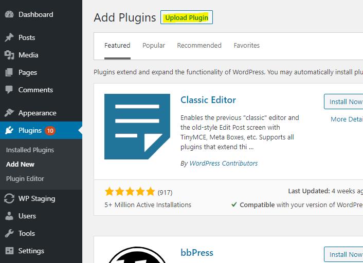 Upload Per Post Language plugin