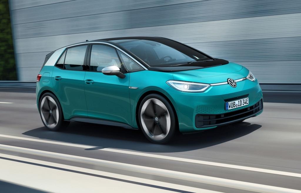 Volkswagen ID.3 voiture électrique Pays-Bas